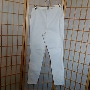 NEW White High Rise Skinny Jeans A New Day Size 8